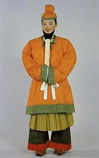 推古·飞鸟時代 推古朝朝服 Nara Period