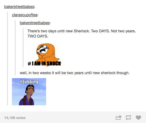 "Community Post: The Internet Prepares For ""Sherlock"" Series 3"