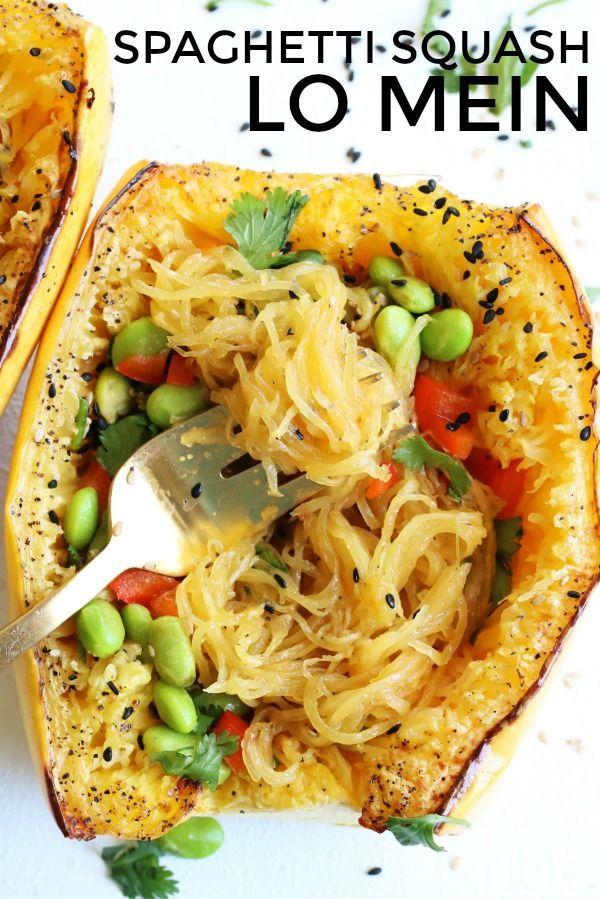 Spaghetti Squash Lo Mein