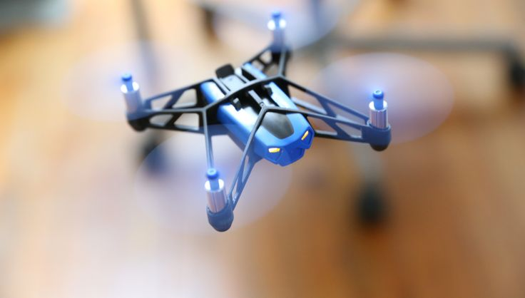 Parrot has released two new minidrones, the Jumping Sumo and the Rolling Spider
