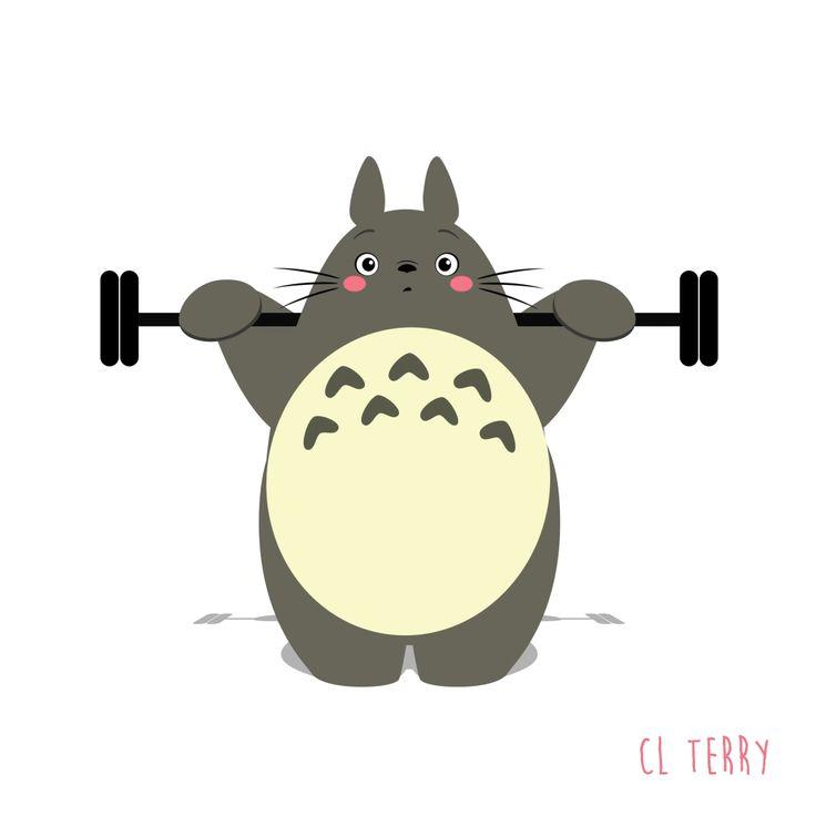 ¡Ahora sí!Si hacer ejercicio es uno de los propósitos que quieres iniciar cada lunes, pero nada más no lo concretas, en iMujer queremos ayudarte con un poco de motivación. Aunque nosotras no te podemos acompañar al gimnasio, el tierno Totoro sí.Y es que ahora que la ilustradora australiana CL Terry creo una seri