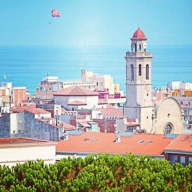 #calellabcn #calellabarcelona #calellalandscape #calellaviews #church by @shtention