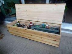 Fabriquer un banc coffre – DIY
