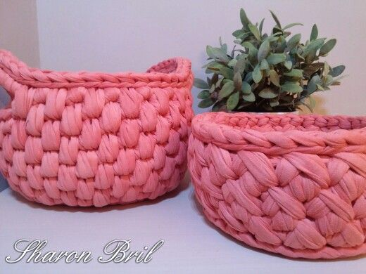 Crochet baskets  https://m.facebook.com/pitaya.sharonbril/