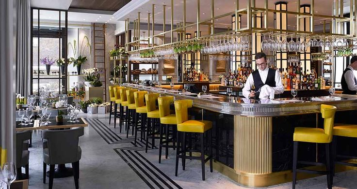 Kensington Pavilion Restaurant Luxury Interior Design - LuxDeco.com