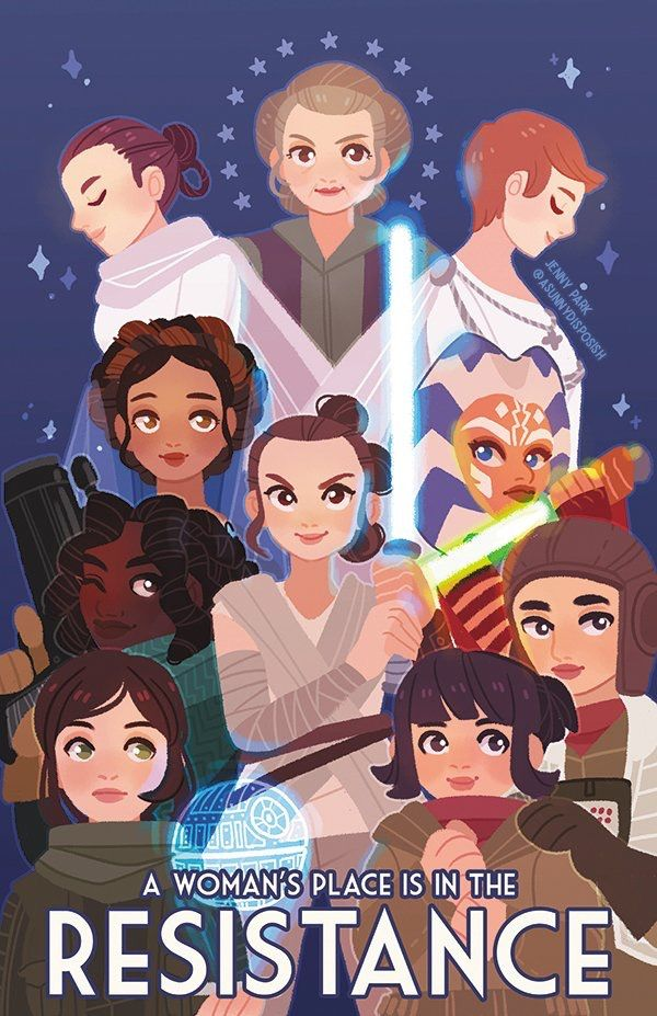 Star Wars has never had a problem with strong female characters. Having been raised on Star Wars and not much else, I've never felt weaker or less adequate. Raise your kids on Star Wars.
