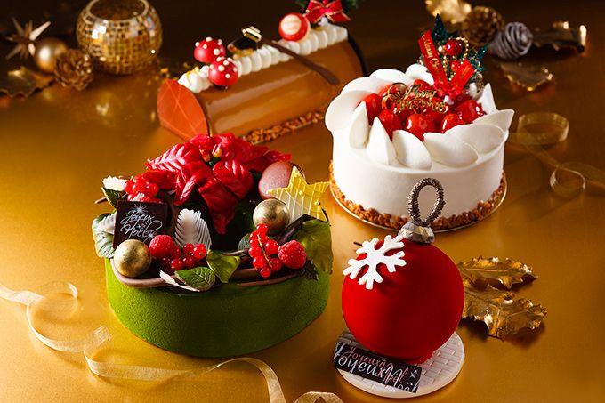 横浜ベイホテル東急のクリスマスケーキ、リースをかたどった新作など登場 | ニュース - ファッションプレス
