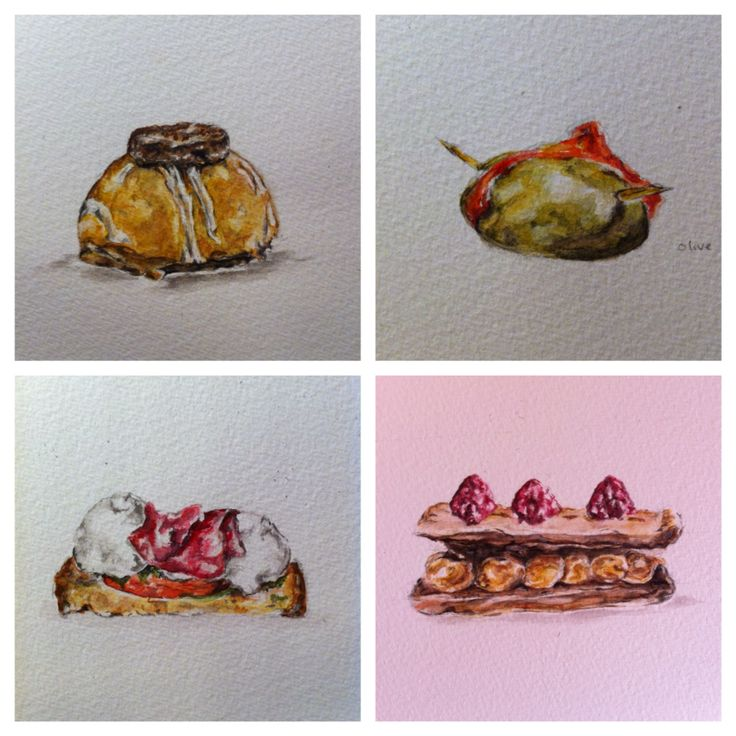 Looking back at my photos to help me develop my watercolour skills and also look further into the subject matter of food. These are some reflective studies I have created from the market images I took in Madrid. Each are watercolour and pencil on A6 paper