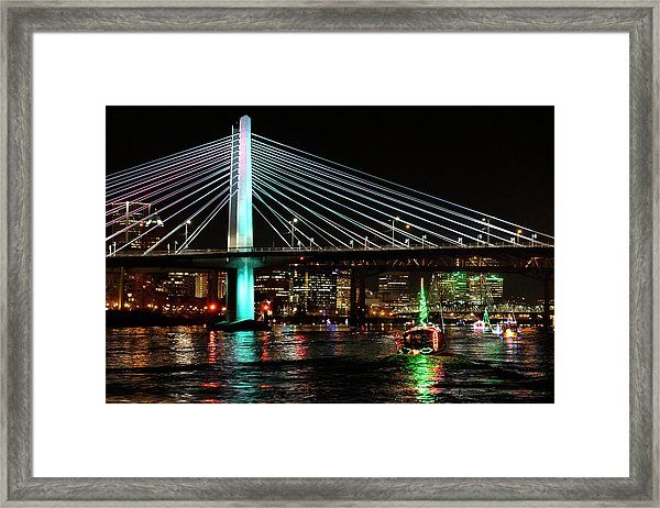 Christmas Ships Framed Print by Steven Clark in 2020 | Christmas