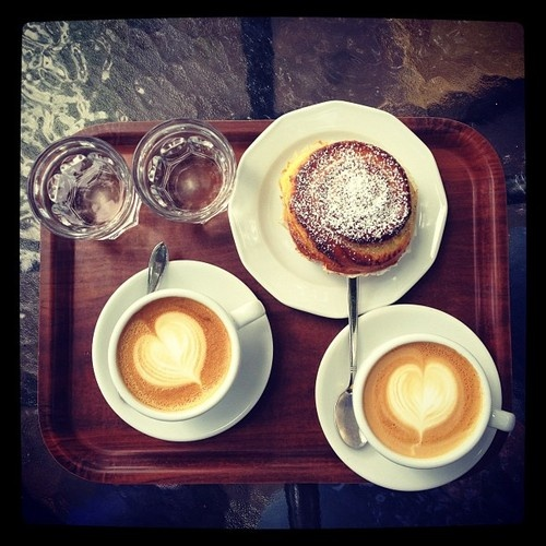 Two Coffee ! #GoodDayorNight #TweetPlanet ! Saturday morning for me calm and voluptuousness ! kiss♥