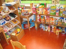 een supermarkt in de klas