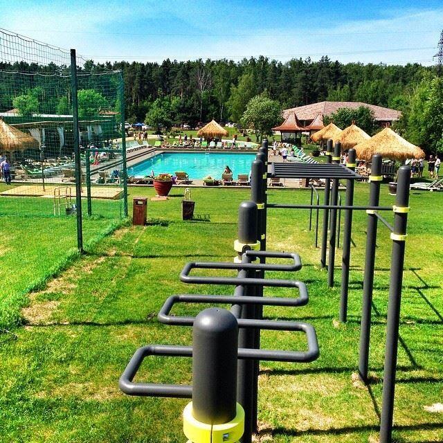 Elegant Outdoor Gym Ideas