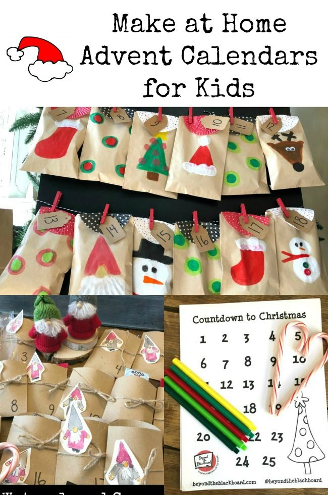 Darling And Easy Countdown To Christmas And Advent Calendars For