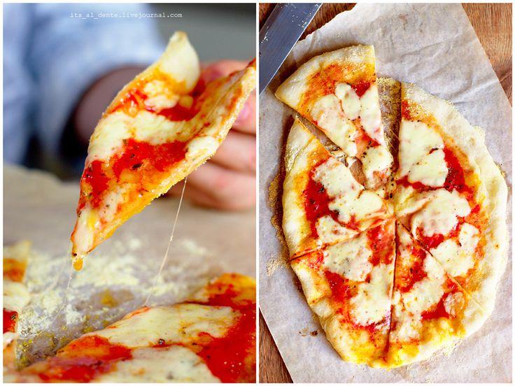 Food for mood. Блог о еде, рецепты и фоторецепты. - Как приготовить настоящую пиццу в домашних условиях? (на примере классической Маргариты)