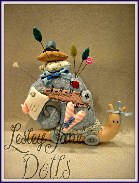 Pretty Blue Pink French Decorative Whimsical by lesleyjanedolls