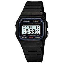 Casio F-91W-1YER Men's Resin Digital Watch