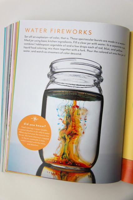 Smashed Peas and Carrots: TUTORIAL: How to Make Water Fireworks PLUS Martha Stewart's Favorite Crafts for Kids Book Review and Giveaway