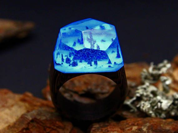 Ring Winter Twilight