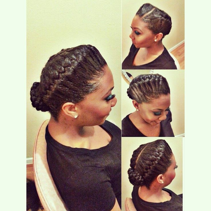 Cornrow French Roll Hairstyles For Black Women | Best Hairstyles ...