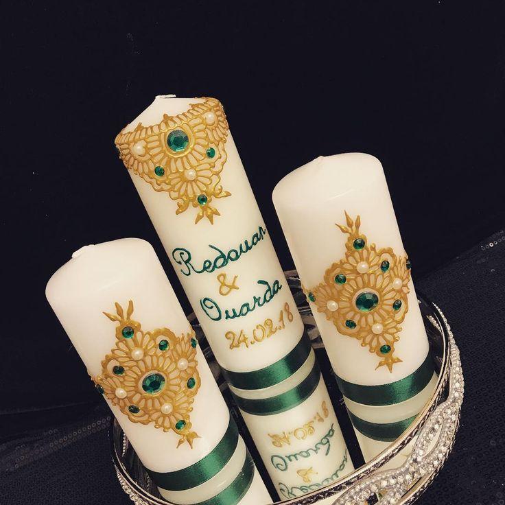 Hennakerzen für deinen Hennaabend oder als orientalisches Wohnaccessoire für Zuhause