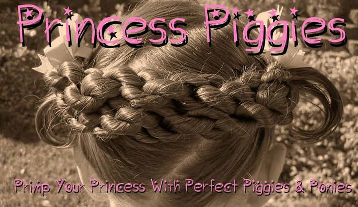 Princess Piggies Blog - Lots of adorable hairstyles for little girls
