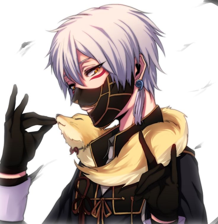 Nakigitsune Touken Ranbu/1830369   Anime männer, Anime ...