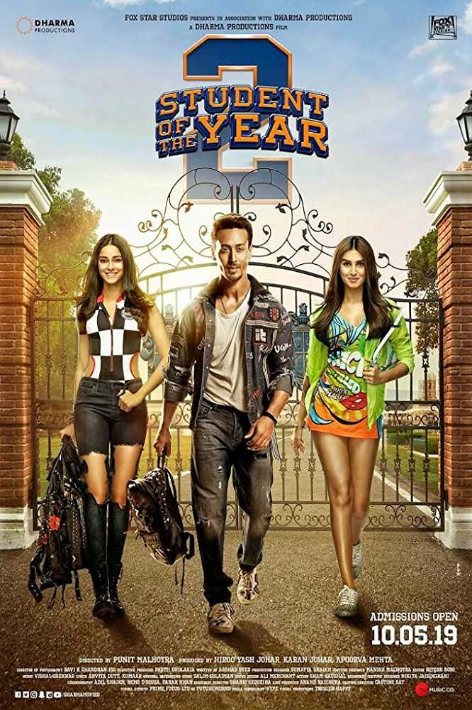 Student of the Year 2 2019 720p Dvdscr Hindi(G-DRIVE)),Student of
