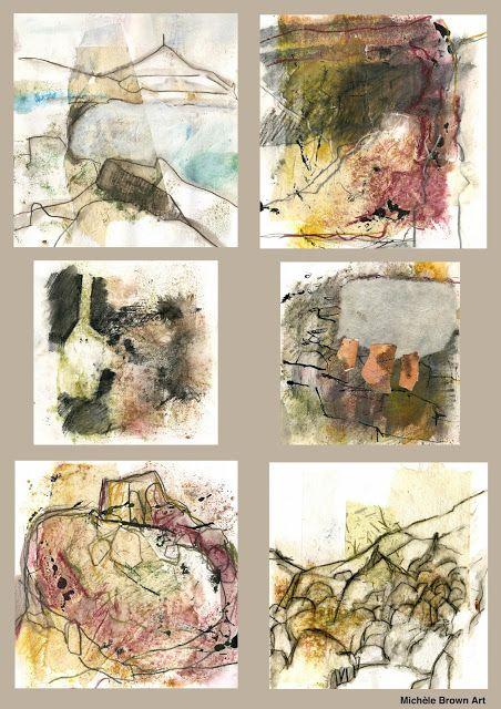 The Old Cells Studio - Michèle Brown Art: Landscape Sketches