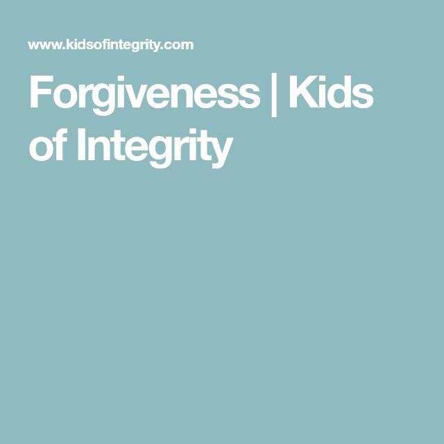Forgiveness | Kids of Integrity