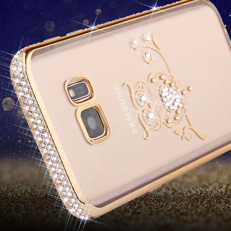 Bling Silicone Case For Samsung Galaxy S7 Luxury Rhinestone 3D Swan Peafow Soft TPU Coque For Samsung Galaxy S7 Edge Cases Cover #clothing,#shoes,#jewelry,#women,#men,#hats,#watches,#belts,#fashion,#style