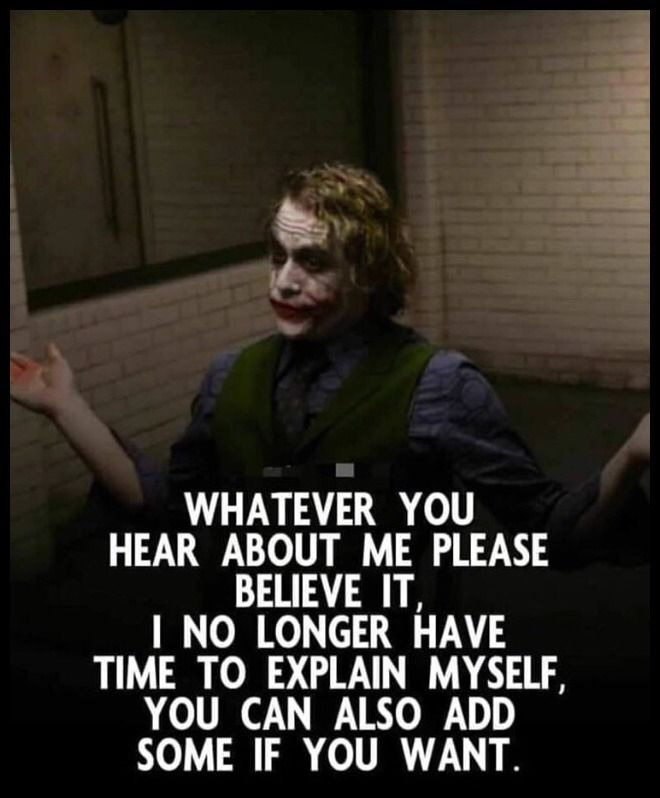 What Are You Really Afraid Of Joker Quotes Life Quotes Best Joker Quotes