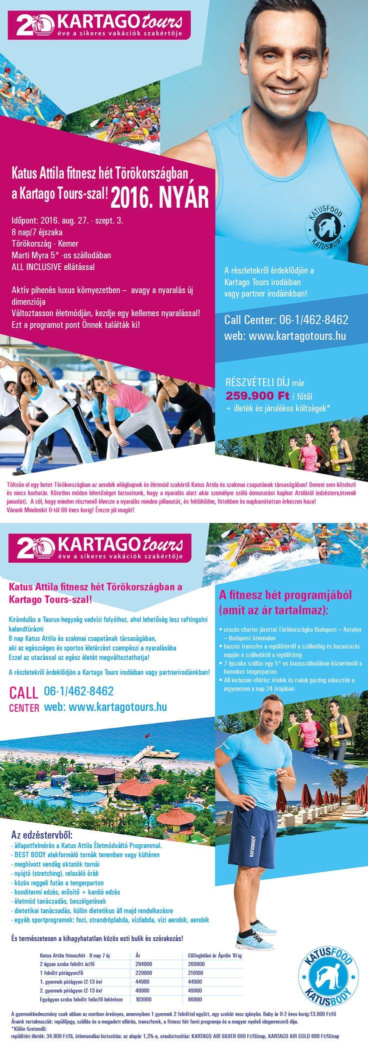 Kartago Tours - KATUS ATTILA Fitneszhét