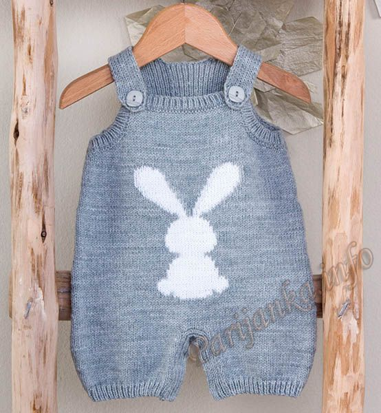 knitted baby romper ♡
