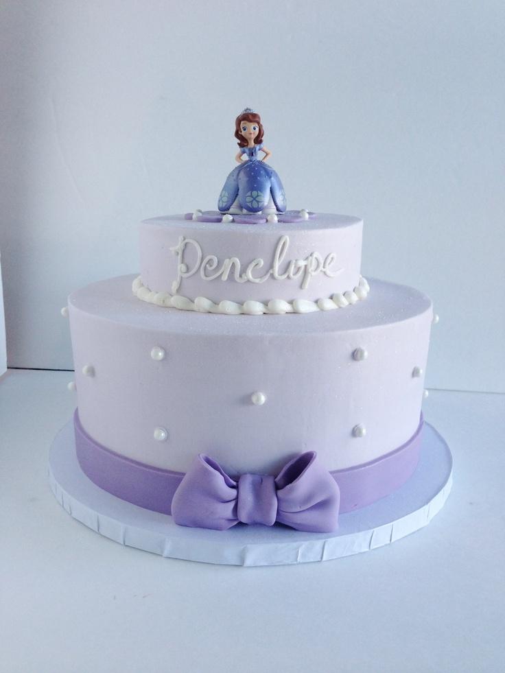 Princess Sophia cake* Kaylees cake was very similar. Cute cute.