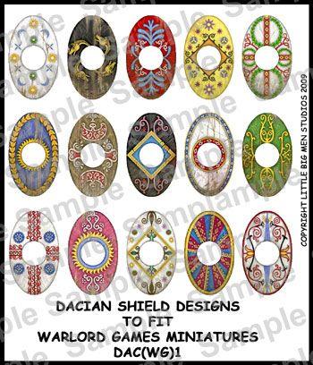 dacian shield - Google Search