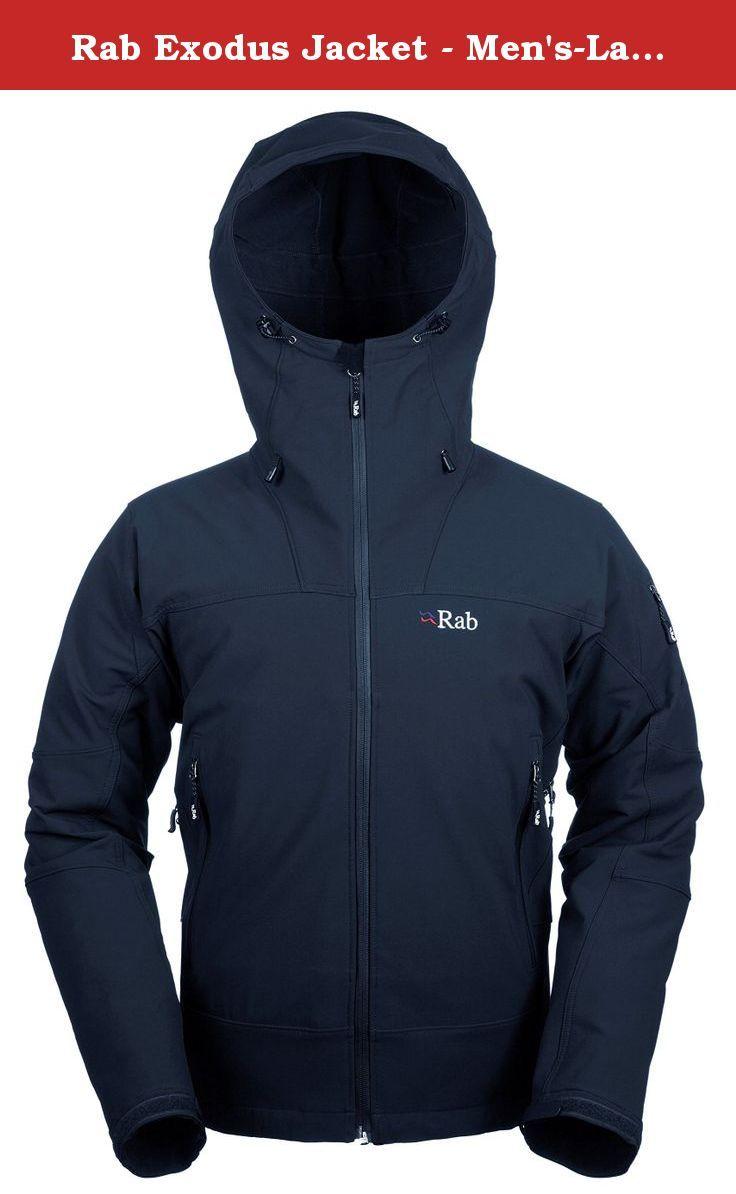 Men's exodus jacket - Rab Exodus Jacket Men S Large Dusk The Rab Exodus Jacket Is A Mid Weight Soft Shell Jacket The Exodus Jacket Is Highly Breathable And Weather R