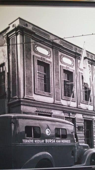 Kızılay Kan Merkezi  Bursa - 1963