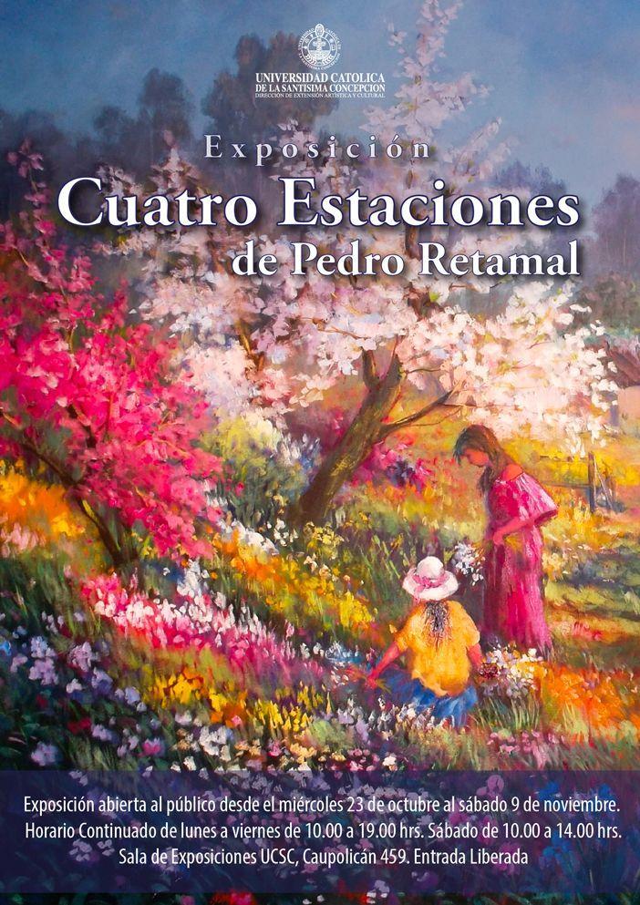 Afiche exposición de pintura