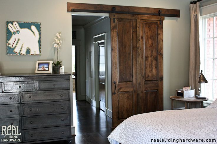 Barn door hardware guest bedroom j3633 home pinterest for Bedroom barn door hardware