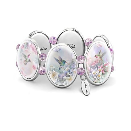 Lena Liu Wings Of Enchantment Art Stretch Engraved Bracelet