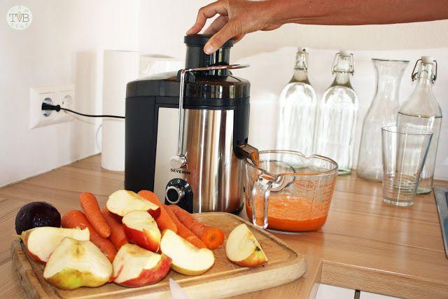 Karotten-Apfel-Rote Rüben Saft - Tschaakii's Veggie Blog