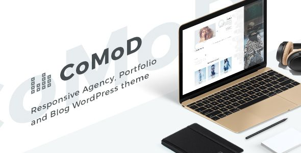 Download CoMoD - Creative Agency / Portfolio Theme