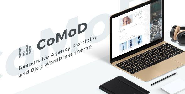 Download CoMoD - Creative Agency / Portfolio Theme