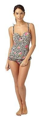 Hot honi #peplum #style #swimming costume/animal print/padded cups/10-16,  View more on the LINK: http://www.zeppy.io/product/gb/2/152215604397/