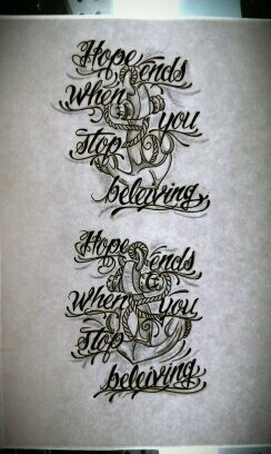 Anchor Tattoos With Quotes. QuotesGram