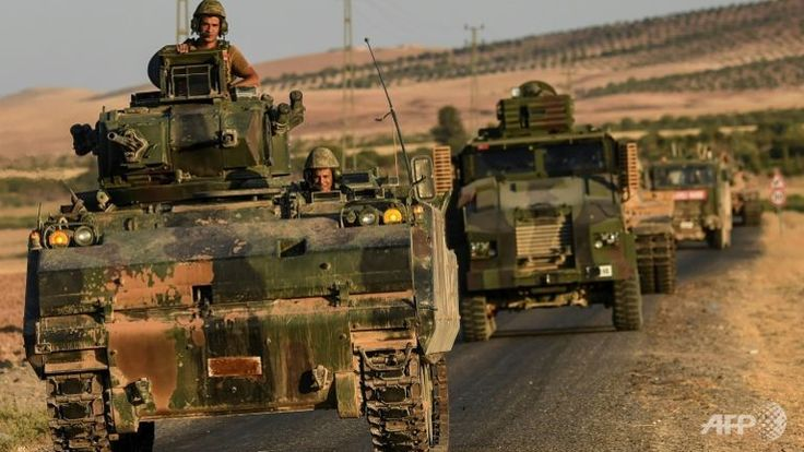 "#Media #Oligarchs #MegaBanks vs #union #occupy #BLM #SDF #DemExit #Humanity   Turkey announces the end of its military operation in northern Syria  https://plus.google.com/111262982046184002072/posts/9iYn64aFEmm Prime Minister Binali Yildirim confirmed the end of the offensive called ""Shield of the Euphrates"" launched in August, without excluding other campaigns in the country.  Ankara announced Wednesday, March 2"