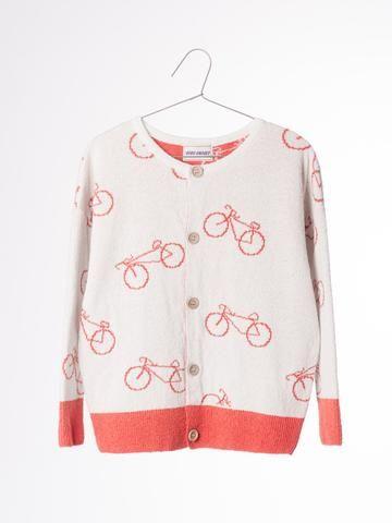 Bobo Choses - The Cyclist AO knit cardigan