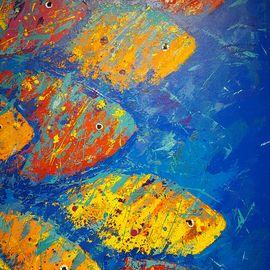 Retrouvez l'Oeuvre d'Art : Cardumen de Gabriela Lavezzari. Paiements Sécurisés. Retours Gratuits