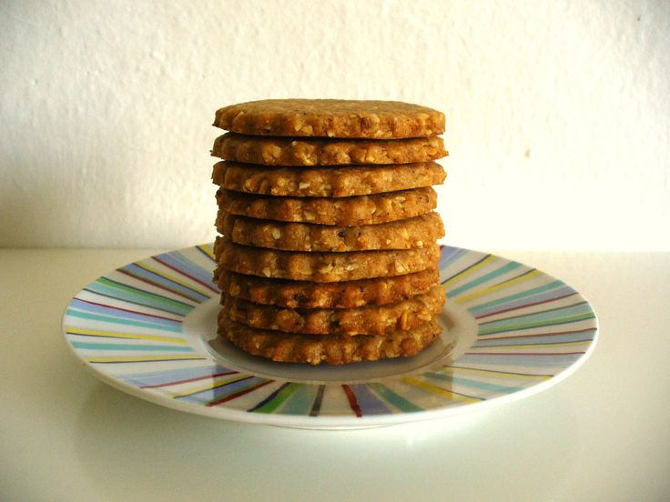 Môj sladký život v Koláčikove: Mandľovo-medové celozrnné sušienky