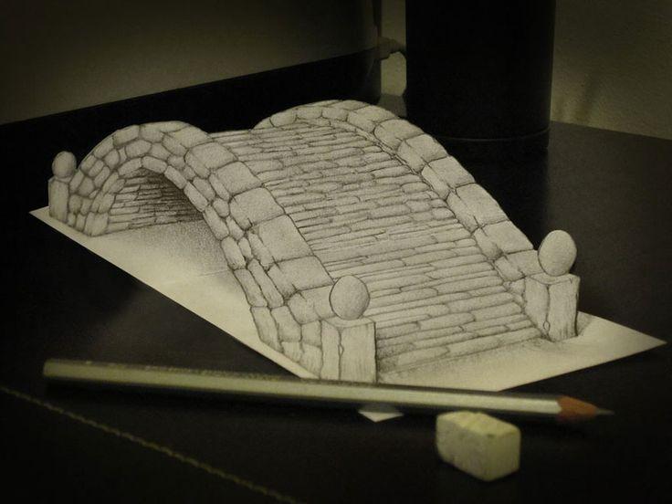 3D Pencil Drawings by Alessandro Diddi | Bored Panda